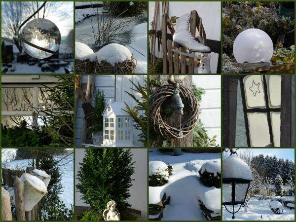 Winterdeko - Winterdeko garten ...
